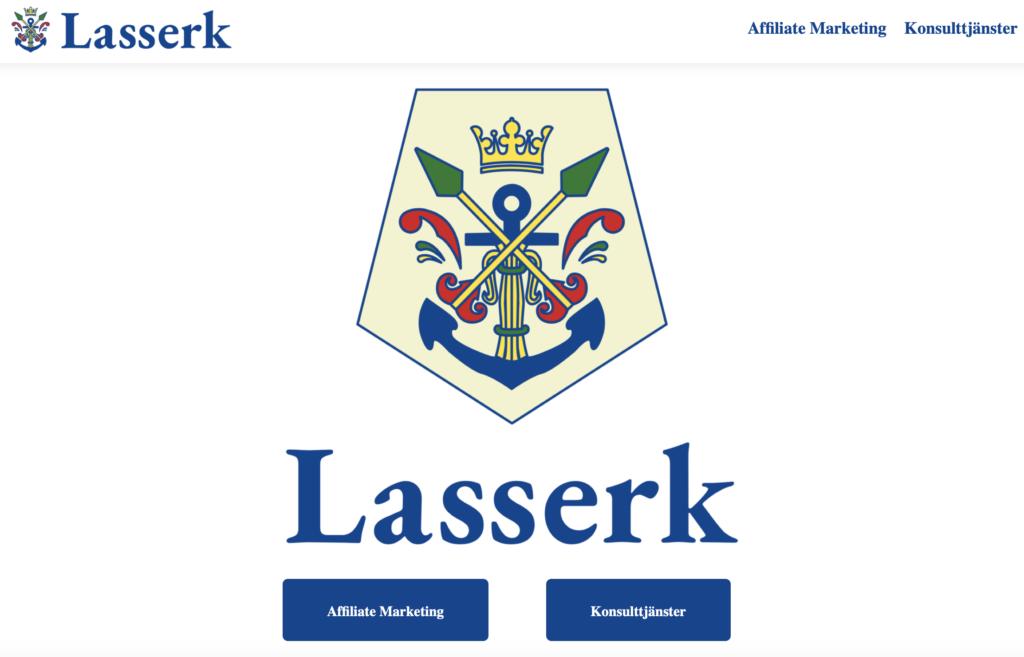 Skärmdump av Lasserk.se